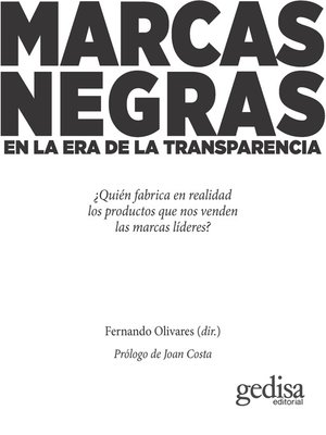 cover image of Marcas negras